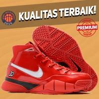 Sepatu Basket Sneakers Nike Kobe 1 Protro DeRozan Red Pria Wanita