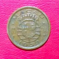 koin asing 5 avos Macau Portugis 1952 TP 2321