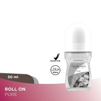 Casablanca Deodorant Roll On White For Women (50ml)