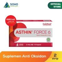 Asthin Force 6 Daya Tahan Tubuh - 2 Strip @10 Kapsul