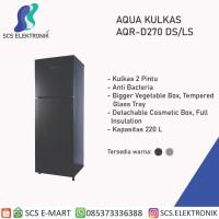 Kulkas AQUA 2 PINTU AQR-D270 Low Watt
