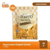 Mayonnaise Omayo Original Sachet [10 Pcs x 10gr]