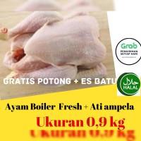 Ayam Potong / Ayam Segar 0,9 Kg