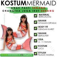 Kostum mermaid nemo kostum putri duyung anak baju renang anak TERHITS