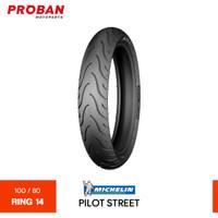 Ban Motor MICHELIN TL PILOT STREET 100/80 Ring 14 Tubeless