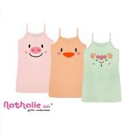 NathalieKids | Baju Tidur Singlet Anak Cewek | Tanktop Anak | NKB 3197