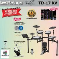 Drum Elektrik Roland TD-17KV + Stools Pedal / TD17KV / TD17-KV / TD17