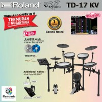 Drum Elektrik Roland TD-17KV + Single Pedal / TD17KV / TD17-KV / TD17