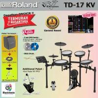 Drum Elektrik Roland TD-17KV Paket Komplit / TD17KV / TD17-KV / TD17