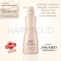 NEW Shiseido Prof SUBLIMIC AQUA INTENSIVE TREATMENT (WEAK) 500gr