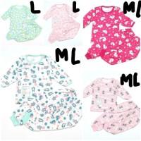 Setelan Baju Anak Bayi Cowok Cewek unisex Little Owl Oblong PP 2