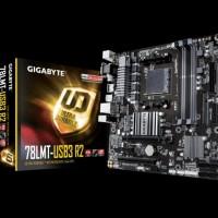 Gigabyte GA-78LMT-USB3 R2 Socket AM3 plus HDMI 4 Slot RAM sparepa