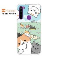Casing Xiaomi Redmi Note 8 Softcase Anticrack Motif Kucing Lucu 32