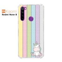 Casing Xiaomi Redmi Note 8 Softcase Anticrack Motif Lucu Unicorn