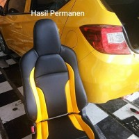 Cover jok mobil brio satya 2019-2020 bahan mb tech superior