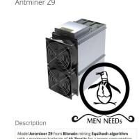Bitmain Antminer Z9 40 Ksol PSU Ready Stock limited stock