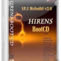 HIRENS BOOT CD 15 2 REBUILD ALL IN ONE BOOTABLE CD perkakas