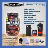 MuscleTech Nitro Tech Ripped 2 Lbs / fatburn isolate lb nitrotech whey