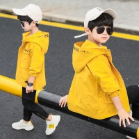 Fashion anak-anak pakaian anak laki-laki jaket musim gugur 2019 baru