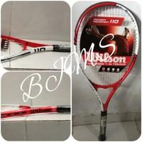 Raket Tennis Wilson Venus Serena Roger Federer 110 Asli Original