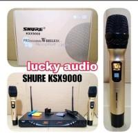 Mic wireless Shure KSX9000 PP high quality Anti feedback Berkualitas
