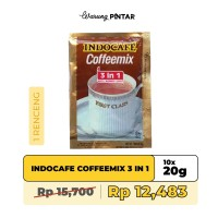 Indocafe Coffeemix 3 in 1 Sachet 20gr