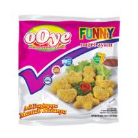 Ooye Naget Ayam Funny 500 gr