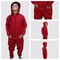 costume jumpsuits money heist la casa de papel kostum dan topeng