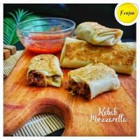 Kebab Beef Mozzarella Frofoo Halal Homemade Frozen Food 5pcs