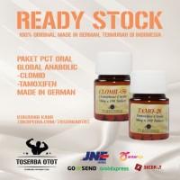 Paket PCT Oral Global Anabolic Original, Clomid dan Tamoxifen/nolvadex