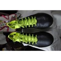 Sepatu Bola Puma evoTOUCH 1 Black/White/Safety Yellow size 43 RARE!!!