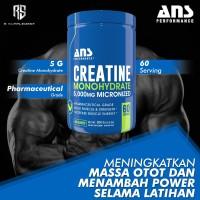 ANS Creatine Monohydrate 5000mg 300 Gram 60 Servings 60 Serv
