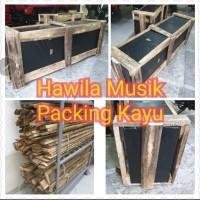 Packing kayu Wood Pack Untuk Gitar Per Unit