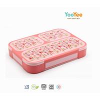 Yooyee Kotak Makan 3sekat #642 anti tumpah anti nyampur