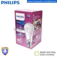 Lampu LED Philips Semu Kuning Mycare 12W Natural White 12Watt My Care