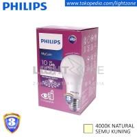 Lampu LED Philips Semu Kuning Mycare 10W 10Watt My Care Natural White