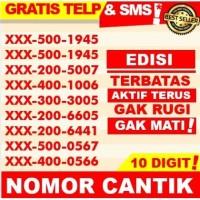 Nomor Perdana Cantik 10 Digit | No Kartu Telkomsel Simpati XL As Tri 3