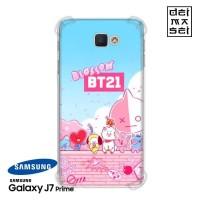 BT21 04 Casing Samsung Galaxy J7 Prime Anti Crack Softcase BTS Case HP