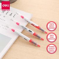Deli Seri Highlighter / Liquid highlighter Series - 4C EU354 - Merah