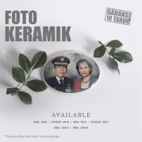 Foto Nisan Keramik 8 x 10