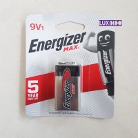 Battery 9 Volt ENERGIZER MAX. Batt 9V - Baterai Original & baru BNIB -