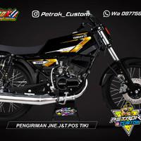 Striping Variasi Yamaha Rx King Les Stiker Body Motor