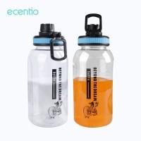ecentio Botol Air Minum Sport Transparan 1000 ml