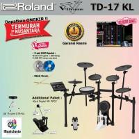 Drum Elektrik Roland TD-17KL + Stools Pedal / TD17KL / TD17 KL VDrums