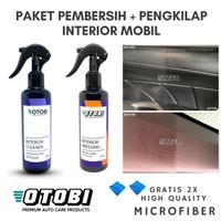 Paket Pembersih + Pengkilap Interior Mobil Dressing Cleaner Dashboard