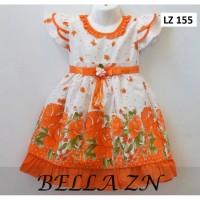 Baju Dress Anak Perempuan Terusan usia 2-4 Tahun Bahan Katun Jepang
