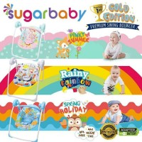 SUGAR BABY Gold Edition Premium Swing Bouncer / Ayunan Bayi