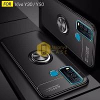 Case Vivo Y30 / Y50 Autofocus Invisible Iring Soft Case