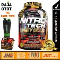 Muscletech Nitrotech Whey Gold 5,5 Lbs Suplemen Fitness Nitrotech BPOM