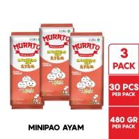 MURATO Minipao Ayam @ 30 Pcs 480 Gr Multipack